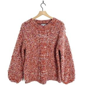 Joseph A Chunky Oversize Cable Knit Comfy Sweater